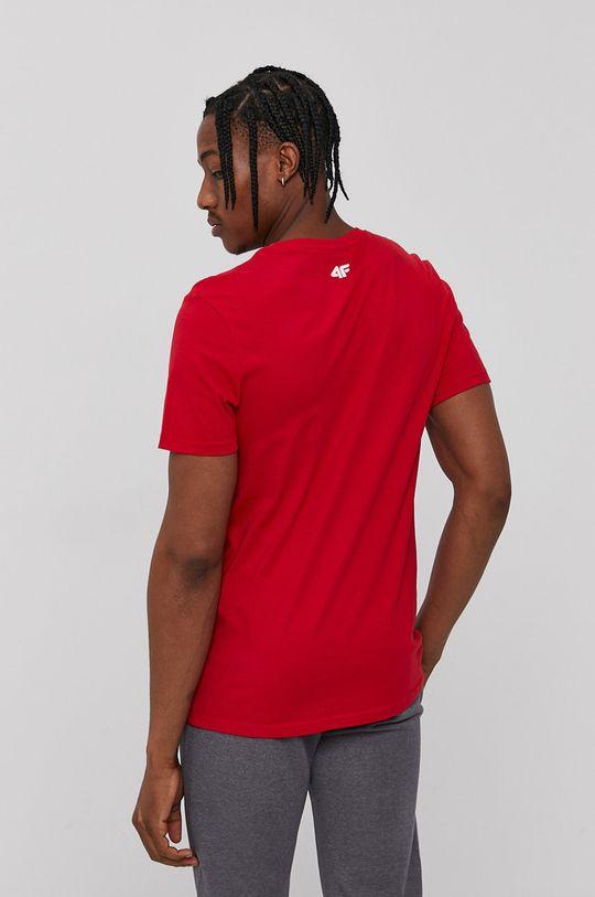 4F - Tričko červená