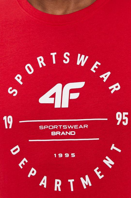 červená 4F - Tričko