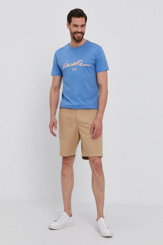 Lacoste - Tričko modrá