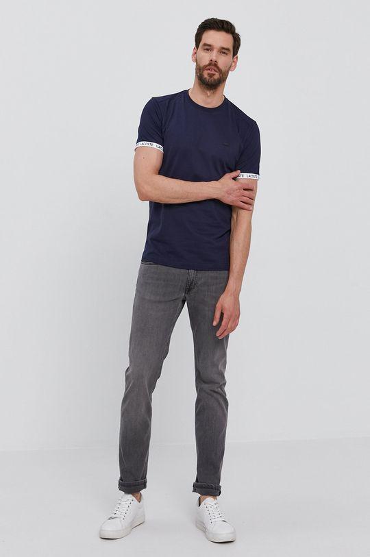 Lacoste - Tričko tmavomodrá