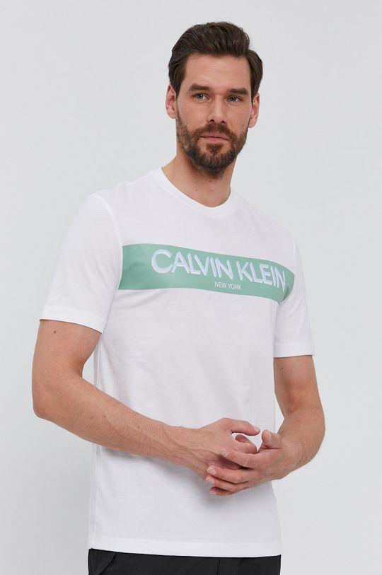 fehér Calvin Klein - T-shirt Férfi