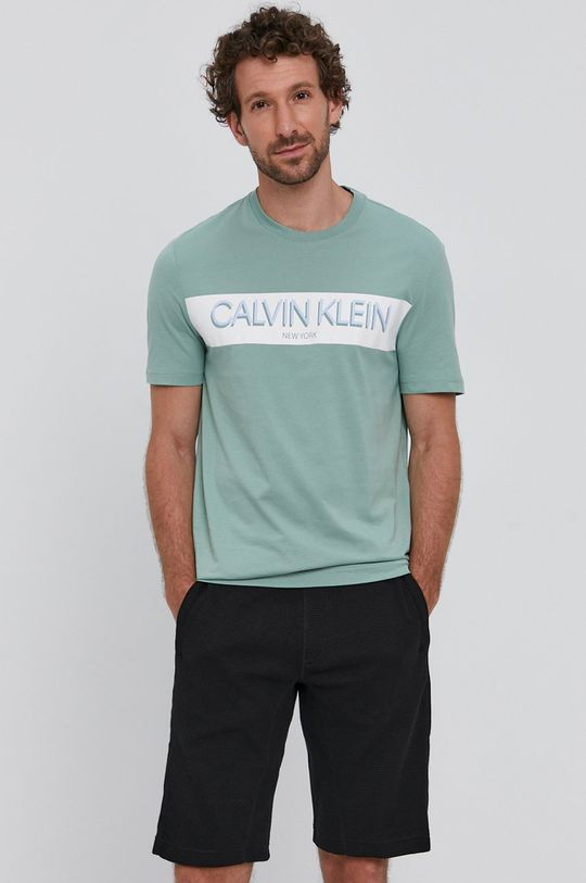 halvány zöld Calvin Klein - T-shirt Férfi
