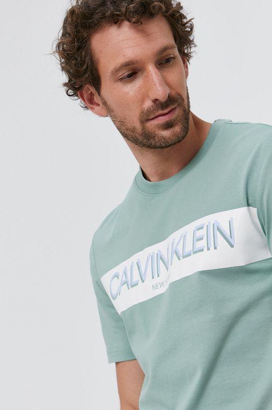 halvány zöld Calvin Klein - T-shirt