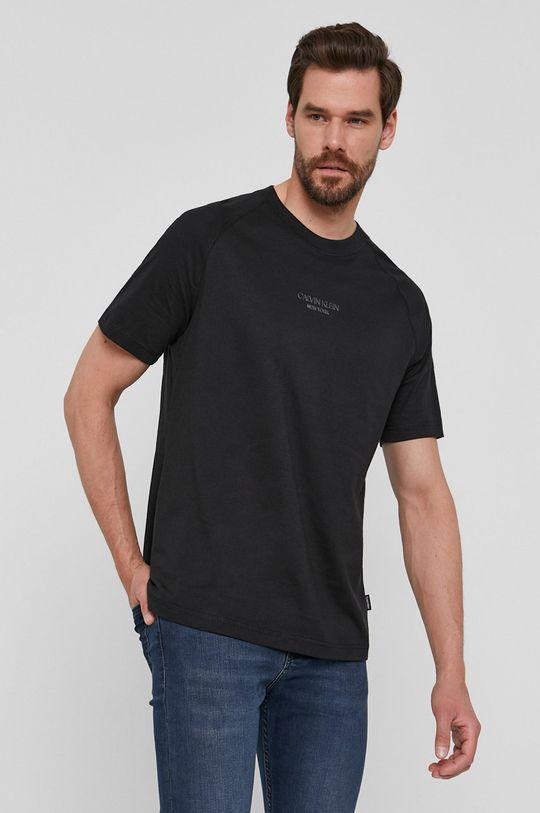 czarny Calvin Klein - T-shirt