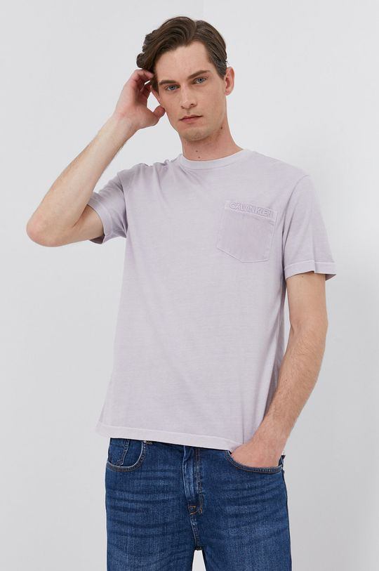 levandulová Calvin Klein - Tričko Pánský