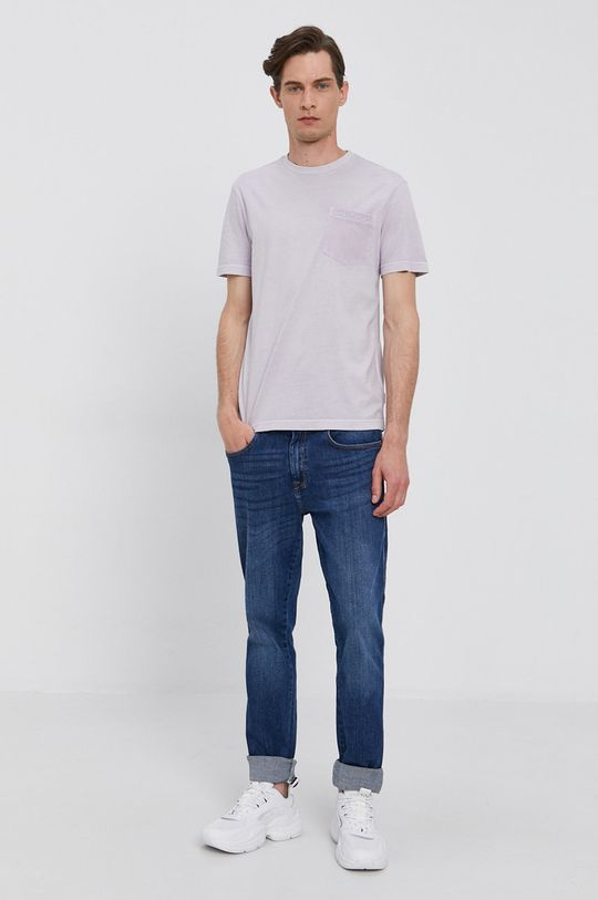Calvin Klein - Tričko levandulová