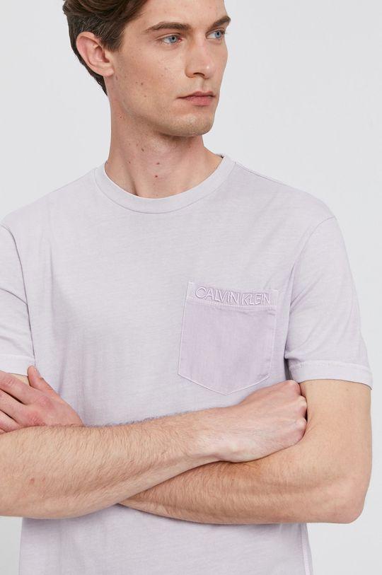 levandulová Calvin Klein - Tričko