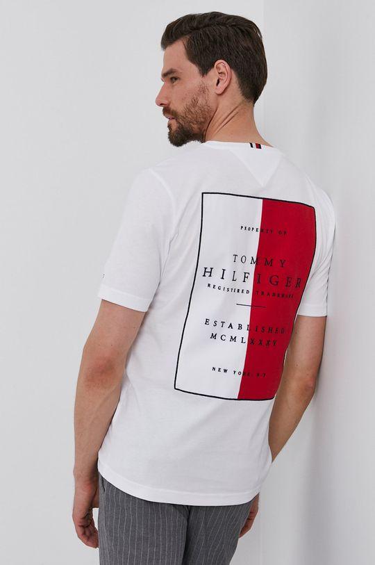 fehér Tommy Hilfiger - T-shirt Férfi