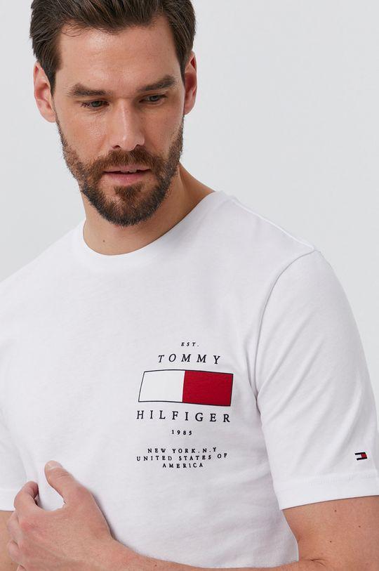 fehér Tommy Hilfiger - T-shirt