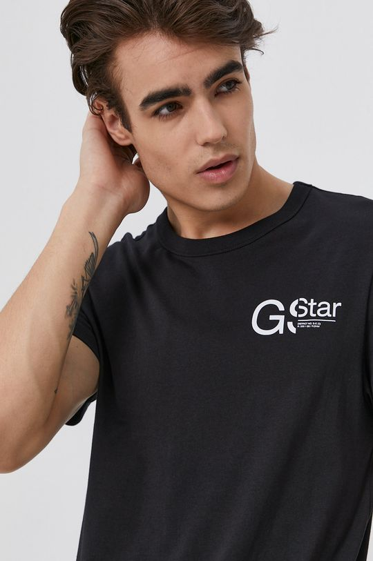 czarny G-Star Raw - T-shirt