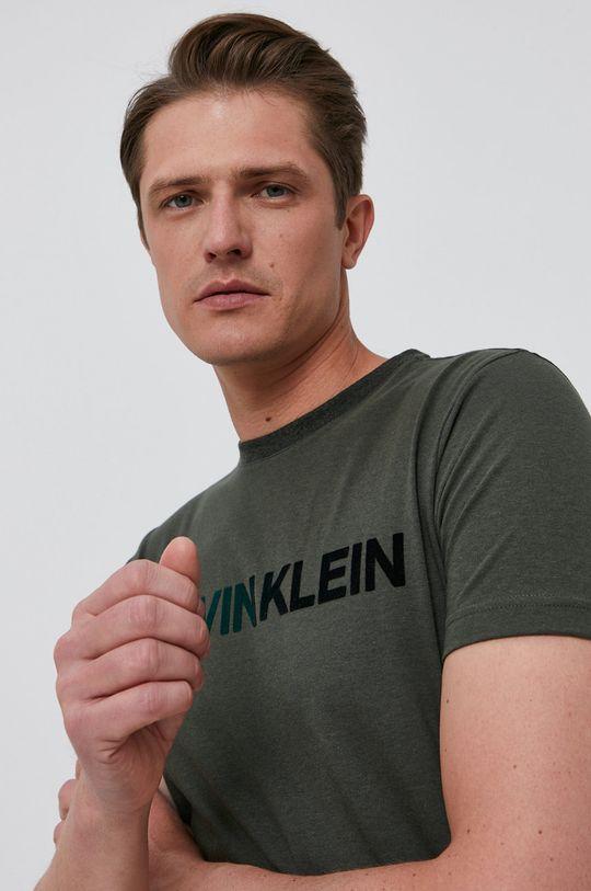 khaki Calvin Klein - Tričko