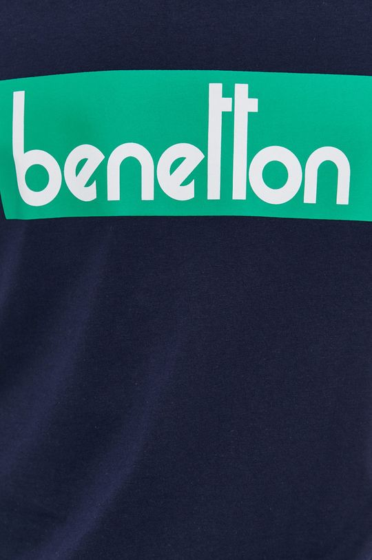 United Colors of Benetton - T-shirt bawełniany Męski