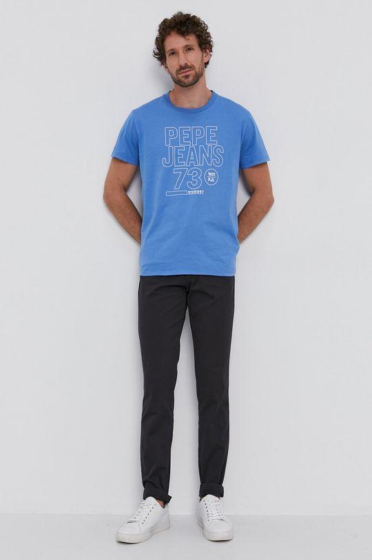 Pepe Jeans - Tričko SKYLER světle modrá