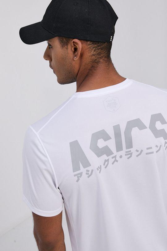 biały Asics - T-shirt Męski