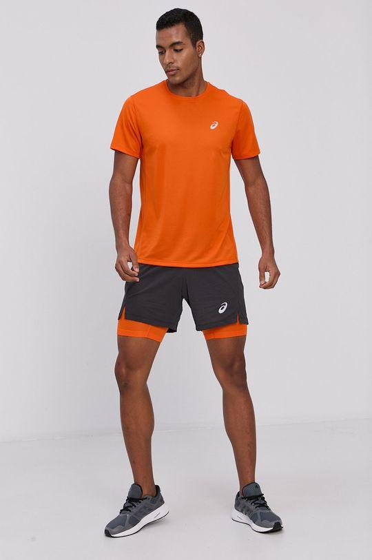 Asics - T-shirt pomarańczowy