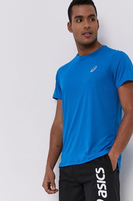 niebieski Asics - T-shirt Męski