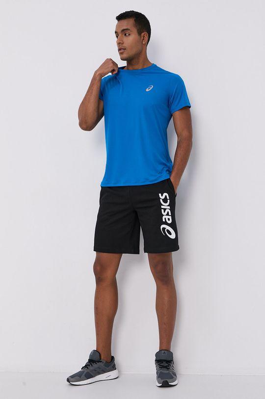 Asics - T-shirt niebieski