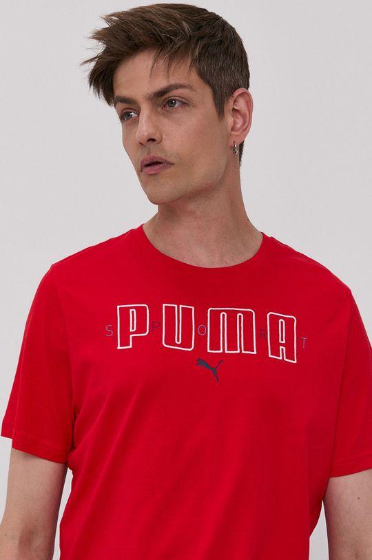 Puma - Tričko červená