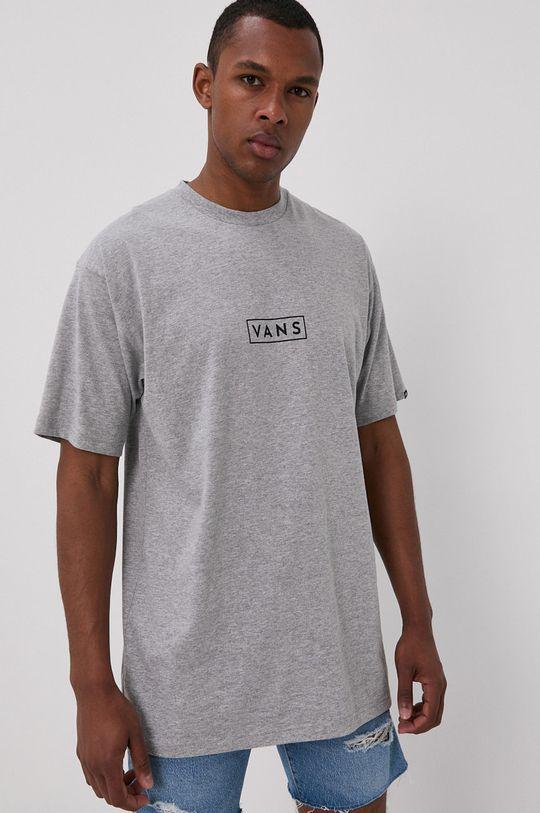 szary Vans - T-shirt Męski