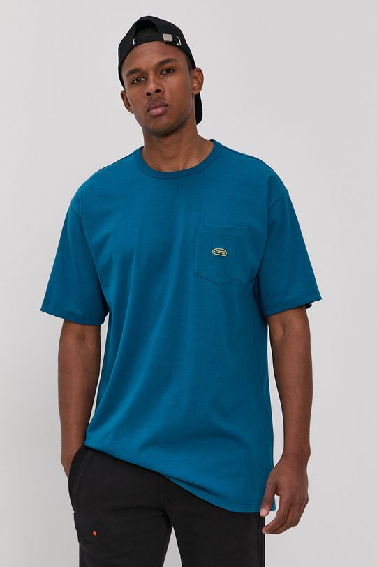 modrá Vans - Tričko Pánský