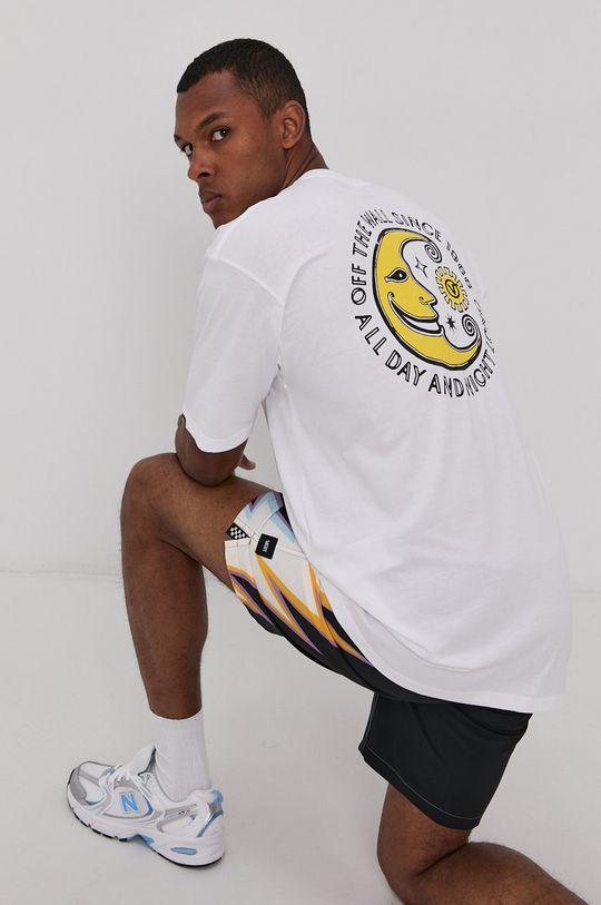biały Vans - T-shirt Męski