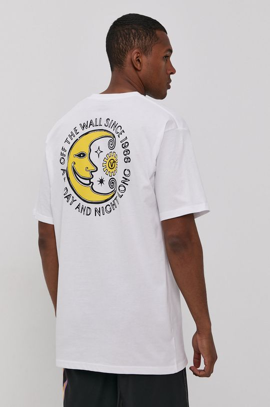 biały Vans - T-shirt