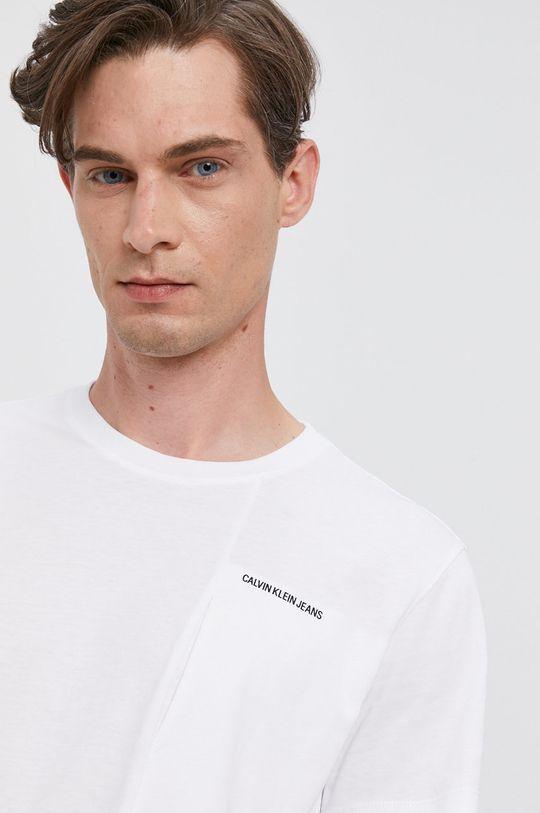 bílá Calvin Klein Jeans - Tričko