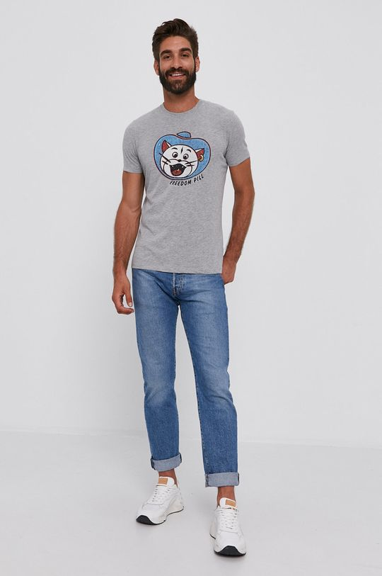 Sisley - Tričko šedá