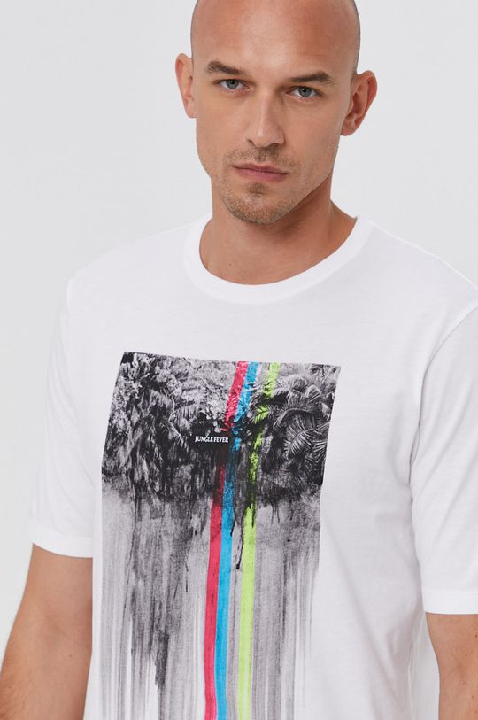 bílá Sisley - Tričko Pánský