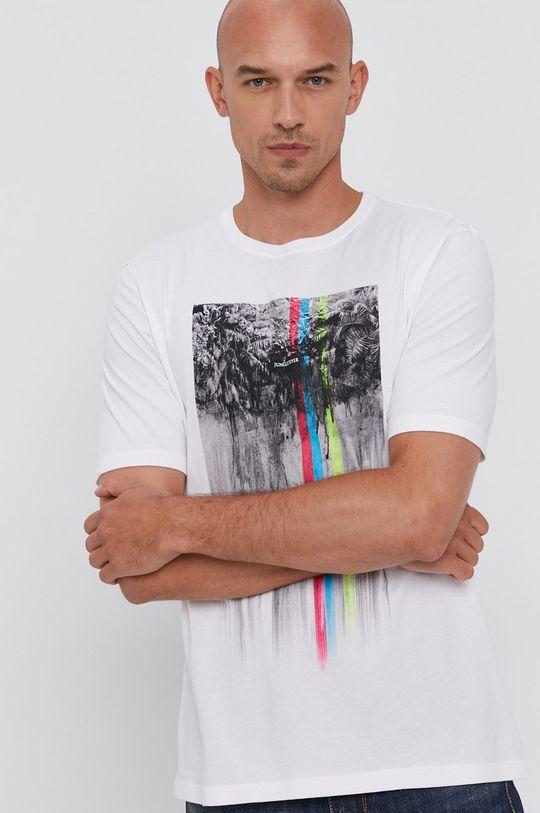 bílá Sisley - Tričko