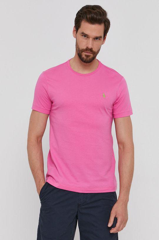 różowy Polo Ralph Lauren - T-shirt Męski