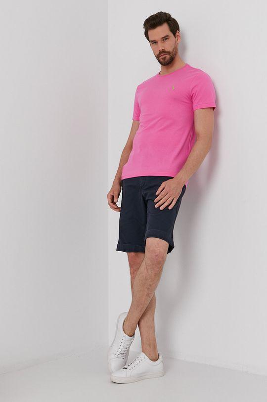 Polo Ralph Lauren - T-shirt różowy