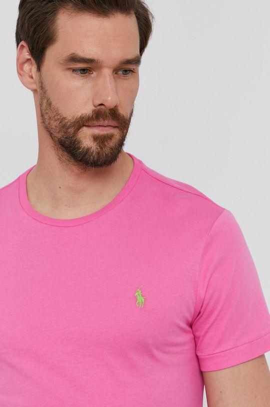 różowy Polo Ralph Lauren - T-shirt