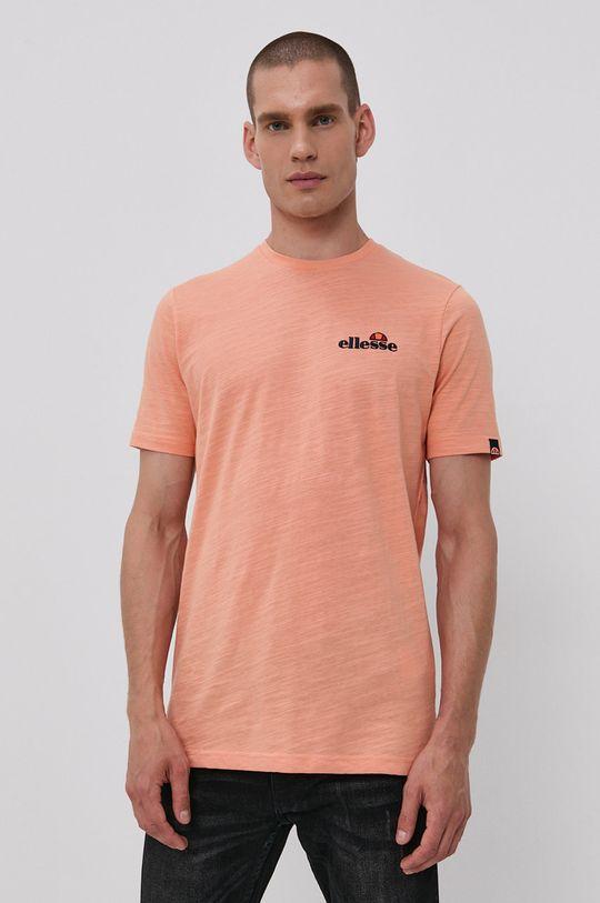 oranžová Ellesse - Tričko Pánsky