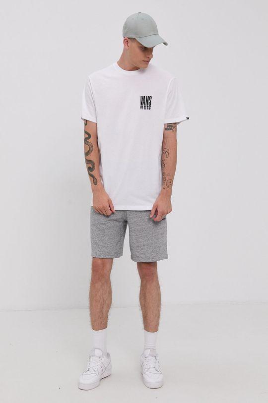 Vans - T-shirt bawełniany biały