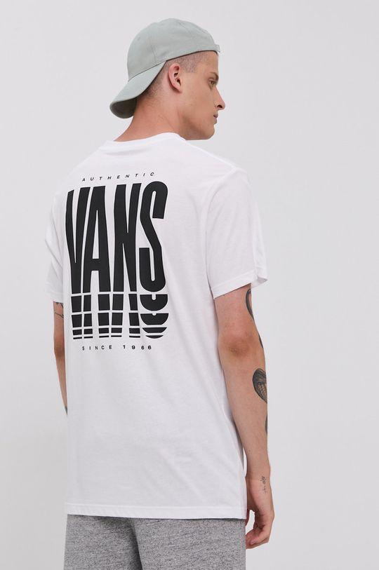 Vans - T-shirt bawełniany 100 % Bawełna