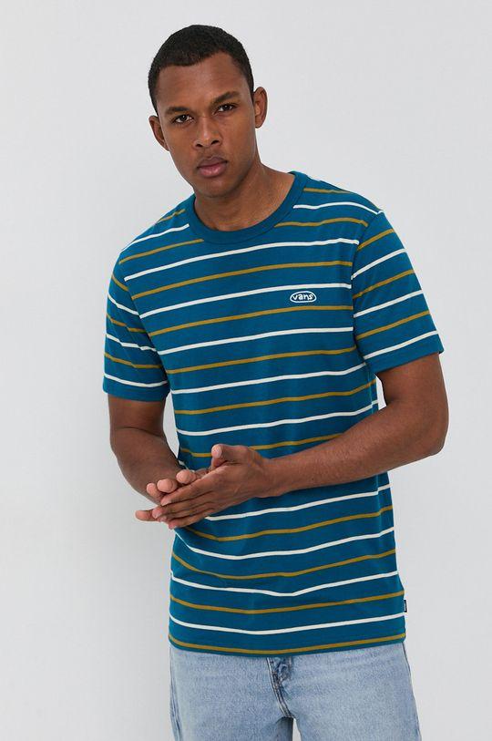 niebieski Vans - T-shirt Męski