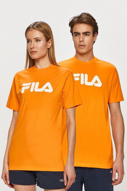 pomarańczowy Fila - T-shirt Unisex