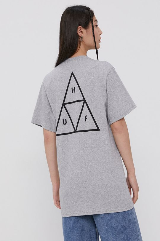 szary HUF - T-shirt