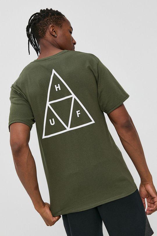 oliwkowy HUF - T-shirt Unisex