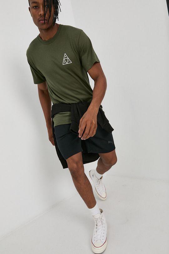 HUF - T-shirt oliwkowy