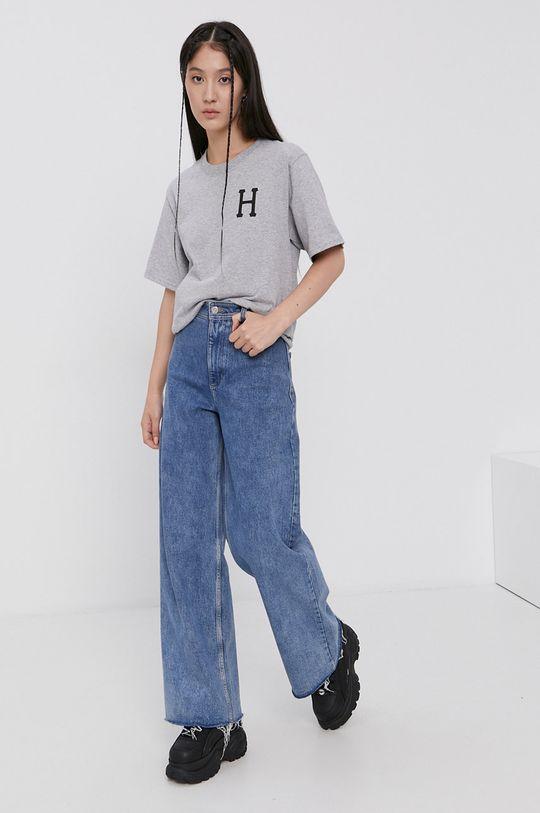HUF - T-shirt bawełniany 100 % Bawełna