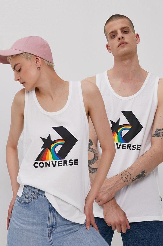 biały Converse - T-shirt PRIDE Unisex