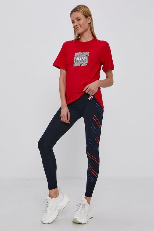 HUF - T-shirt czerwony