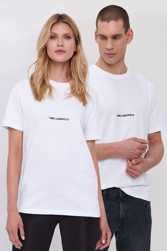 bílá Karl Lagerfeld - Tričko Unisex