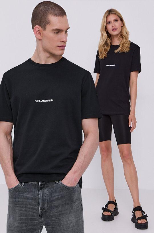 černá Karl Lagerfeld - Tričko Unisex