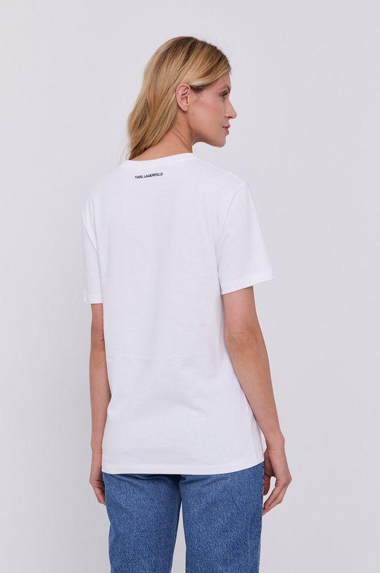 Karl Lagerfeld - T-shirt 100 % Bawełna organiczna