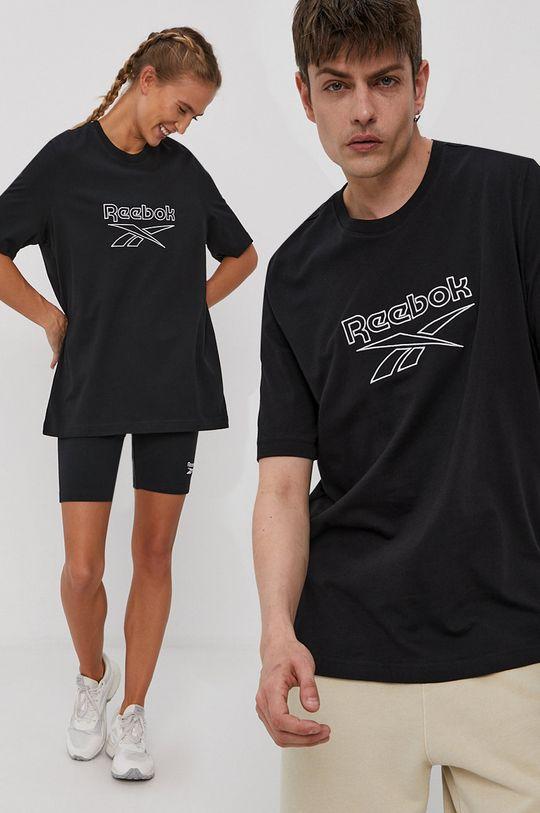 čierna Reebok Classic - Tričko Unisex
