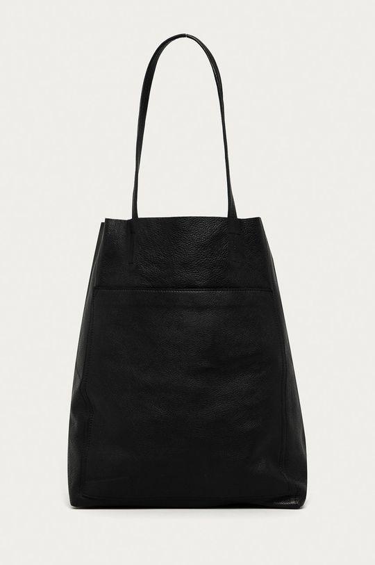negru Answear Lab - Poseta de piele De femei