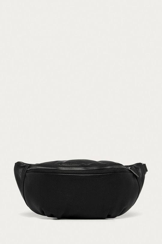 negru Answear Lab - Borseta de piele De femei